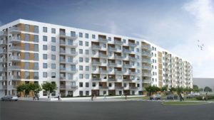 Zabudowa mieszkaniowa wielorodzinna przy ul. Mangalii