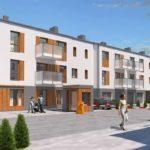 Zespół budynków mieszkalnych jednorodzinnych dwulokalowych w zabudowie szeregowej